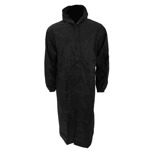 Mens Long Length Waterproof Hooded Coat/Jacket