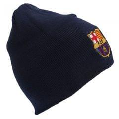 FC Barcelona Official Core Winter Soccer/Football Crest Beanie Hat