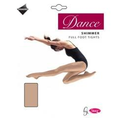 Silky Big Girls Dance Shimmer Full Foot Tights (1 Pair)
