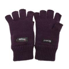 FLOSO Ladies/Womens Thermal Fingerless Winter Gloves (3M 40g)