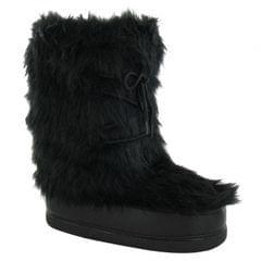 Reflex Womens/Ladies Flat Fur Upper Snow Boots