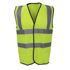 Warrior Mens High Visibility Safety Waistcoat / Vest