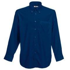 Fruit Of The Loom Mens Long Sleeve Oxford Shirt