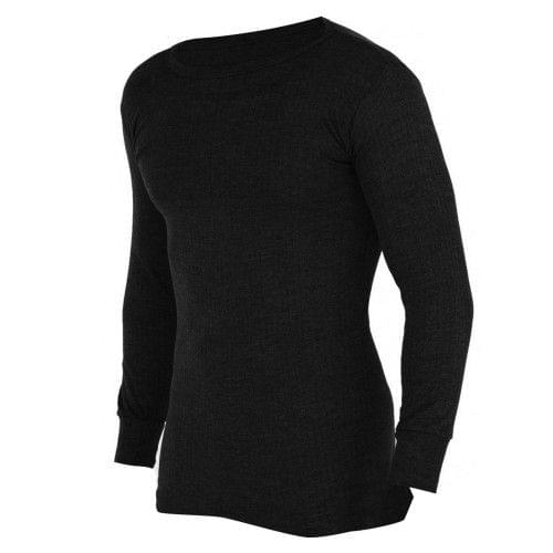 FLOSO Mens Thermal Underwear Long Sleeve Vest Top (Viscose Premium Range)