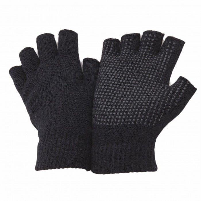 FLOSO Unisex Fingerless Magic Gloves with Grip