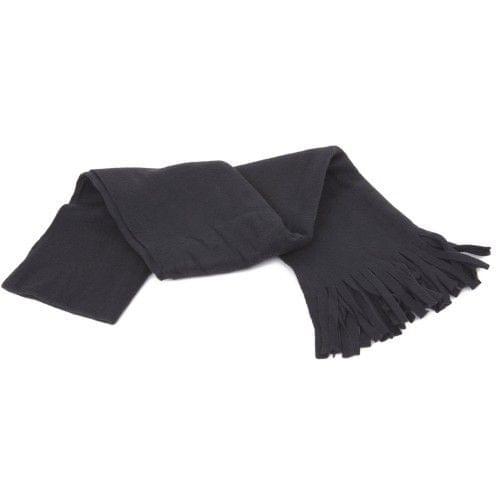 FLOSO Ladies/Womens Plain Thermal Fleece Winter/Ski Scarf with Fringe