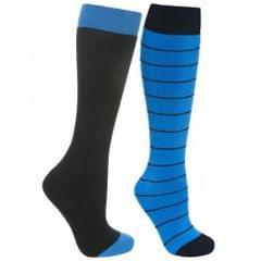 Trespass Mens Toppy Ski Tube Socks (2 Pairs)