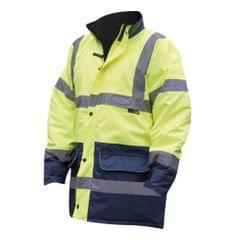 Warrior Mens Denver High Visibility Safety Jacket
