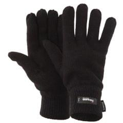 FLOSO Mens Thermal Knitted Winter Gloves