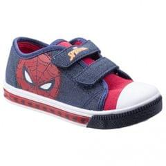 Leomil Childrens Boys Spiderman Touch Fastening Sneakers