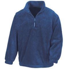 Result Unlined Active 1/4 Zip Anti-Pilling Fleece Top