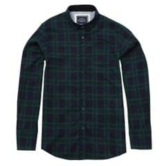 Brave Soul Mens Slater Long Sleeve Check Shirt