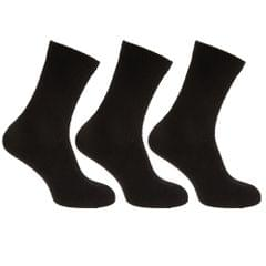 Mens Stretch Top Cotton Rich Diabetic Socks (Pack Of 3)