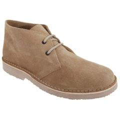 Roamers Mens Real Suede Round Toe Unlined Desert Boots