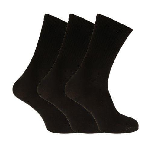 Womens/Ladies Extra Wide Comfort Fit Diabetic Socks (3 Pairs)