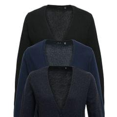 Premier Womens/Ladies Longline V Neck Knitted Cardigan