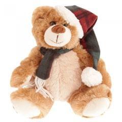 North Pole Christmas Teddy Plush Toy