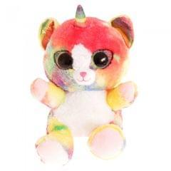 Keel Toys Animotsu Rainbow Kitten Plush Toy
