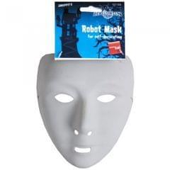 Smiffys Unisex Self Decorate Robot Mask