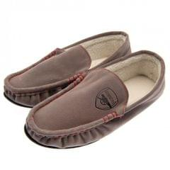 Arsenal FC Mens Moccasin Slippers