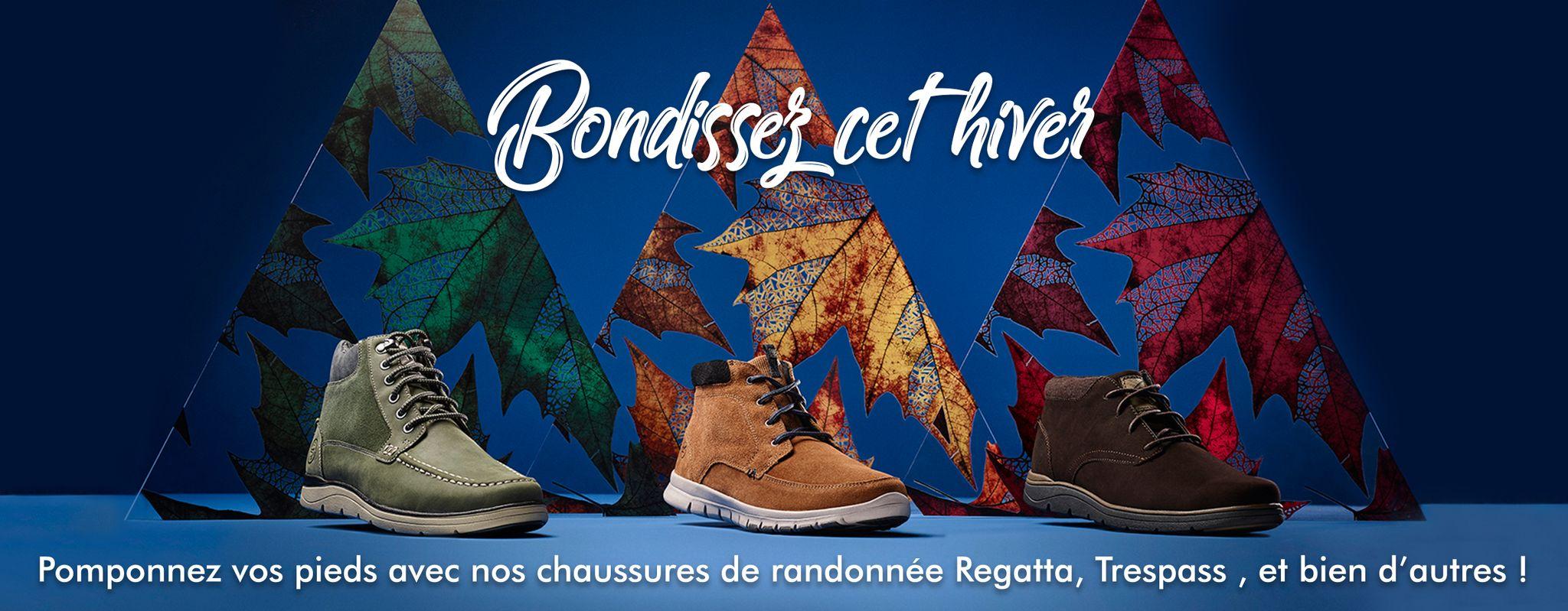 Bottes de marche françaises