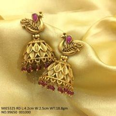 Brass Jhumka with an year warranty