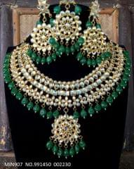Beautiful Necklace set with pair of Beautiful jhumka