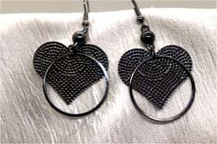 Awesome Earrings - Heart Shaped Danglers