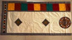 KUTCH worked dupatta , purelly hand worked