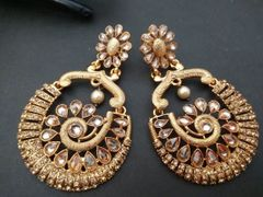 Gold plated Earrings/Danglers with an year warranty