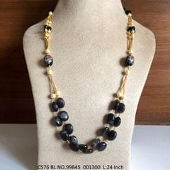 High quality beads necklace with an year warranty. Length is 24 inches