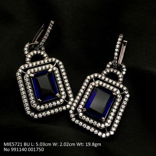 Beautiful American Diamond Dangler with an year warranty