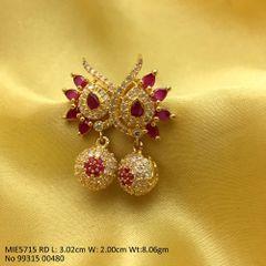 Beautiful American Diamond Earring with an year warranty