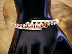 American Diamond Bracelet with an year warranty