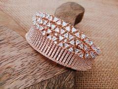 American Diamond Kada with an year warranty