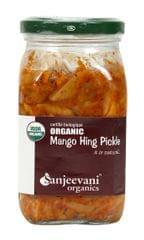 Organic Mango Hing Pickle 350 Gms