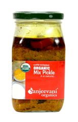 Organic Mix Pickle 350 Gms