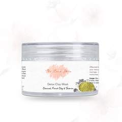Detox Clay Mask (Charcoal, French Green Clay & Jasmine)