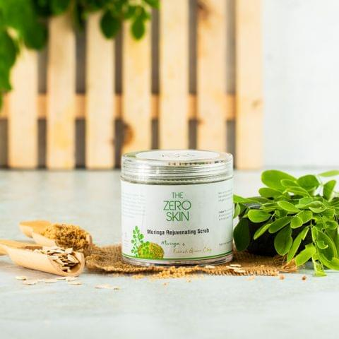 Moringa Rejuvenating Scrub (Moringa & French Green Clay)