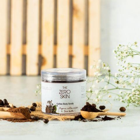 Coffee Body Scrub (Organic coffee powder & Shea butter )