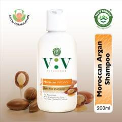 Vita Verde Calm n Tame Shampoo with Moroccon Argan Oil (for Frizzy, Unmanageable Hair)  200 ml