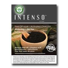 Intenso Peel Off Mask (Whitening + De-Tox) powered with Activated Charcoal