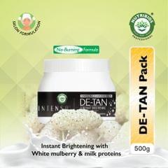 Intenso DeTan Insta Brightening Pack (Sparkling Diamond with White Mulberry & Milk Proteins) - 500 g