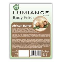 Lumiance Body Polish (single use) with African Butter - 40g (Pack of 10)