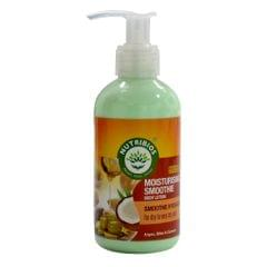 Nutribios Moisturising Smoothie (Body Lotion) with Argan, Olive and Coconut Oil [Factor 5 star safe formula] 200ml