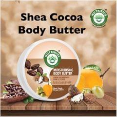 Nutribios Moisturising Body Butter (Cocoa, Shea, Mango & Olive) 200 gm