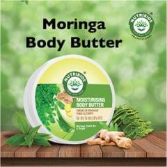 Nutribios Moisturising Body Butter (Moringa, Ginger & Green Tea) 200 gm