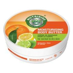 Nutribios Moisturising Body Butter (Satsuma, Lime & Citron) 200gm