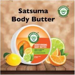 Nutribios Moisturising Body Butter (Satsuma, Lime & Citron) 200gm