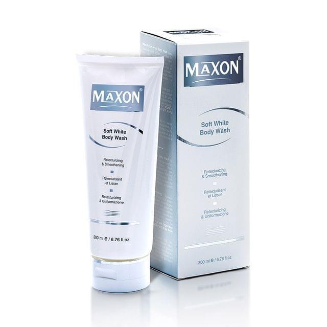 MAXON Soft White Body Wash ( 200 ml )